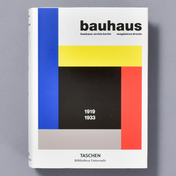 Front of book Bauhaus