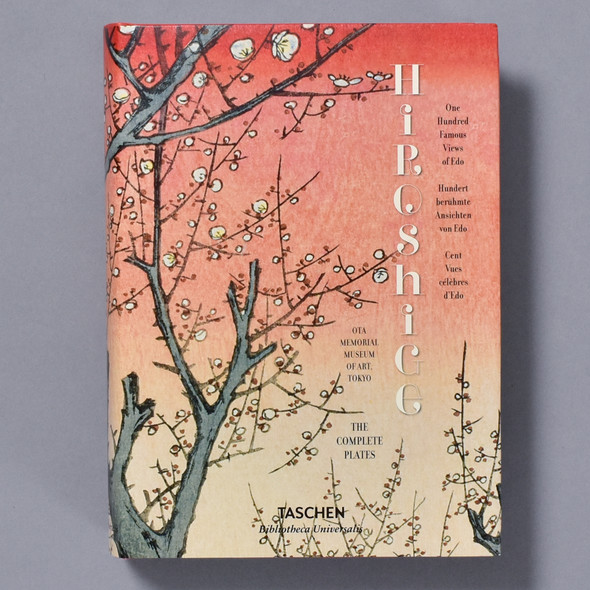 Cover of book Hiroshige: One Hundred Famous Views of Edo