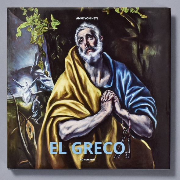 Front of book El Greco