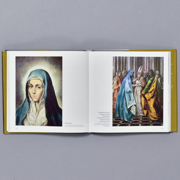 Interior of book El Greco