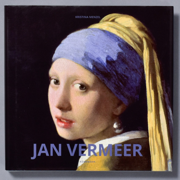 Front of book Jan Vermeer