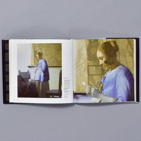 Interior of book Jan Vermeer