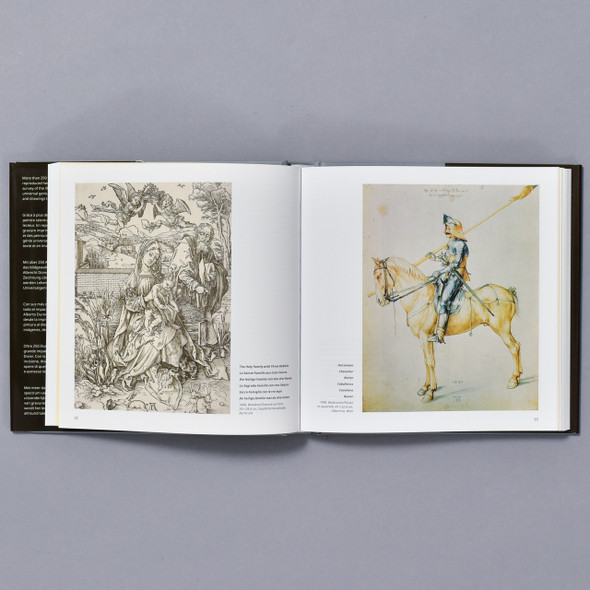 Interior of book Durer