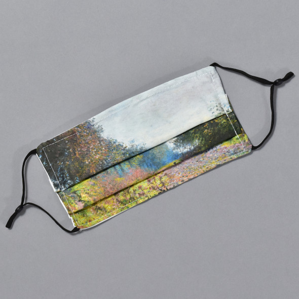 Monet Sheltered Path Face Mask by Ana Thorne