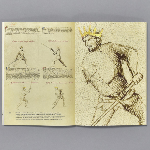 Knightly Art of Battle, pages of book