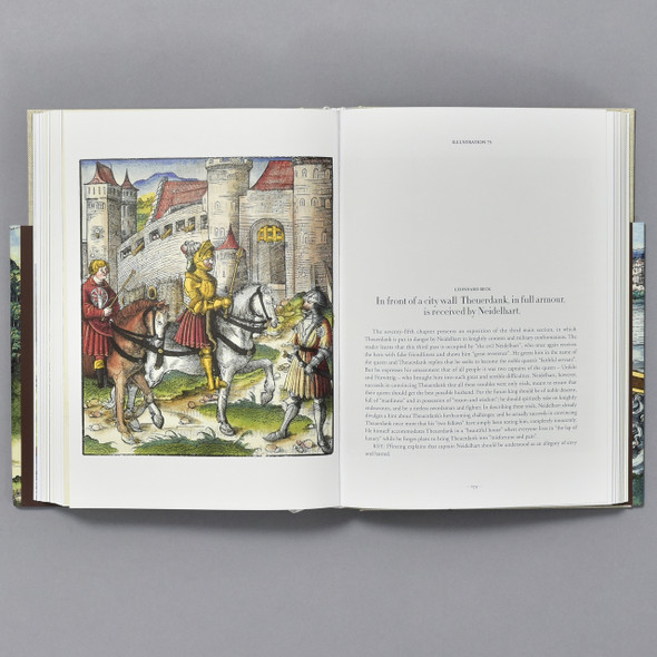 Interior of book Theuerdank the Epic of the Last Knight