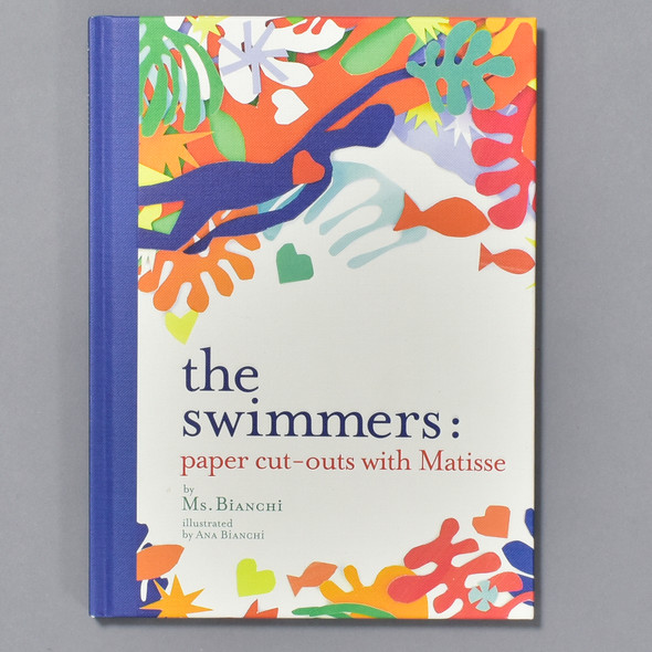 Cover of book Swimmers: Paper Cut-outs With Matisse
