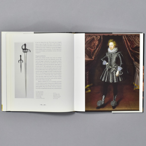 Interior of book Fashion and Armour in Renaissance Europe