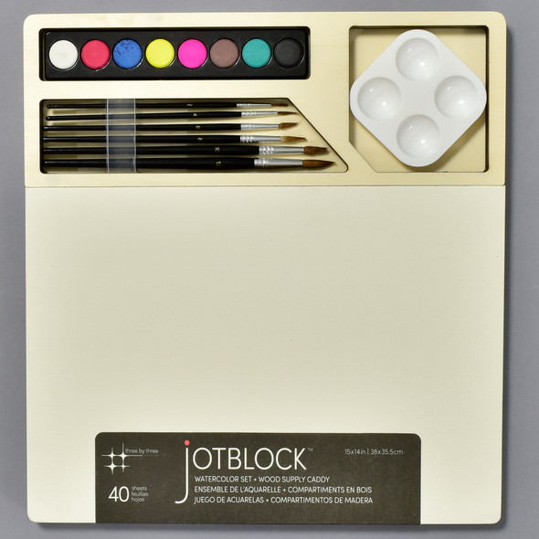 Jotblock Watercolor Set