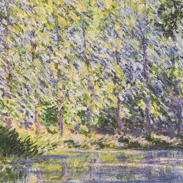 Claude Monet Bend in the Epte River Near Giverny Mini Poster detail