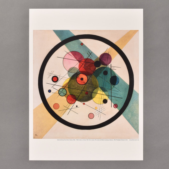 Vasily Kandinsky Circles in a Circle Mini Poster
