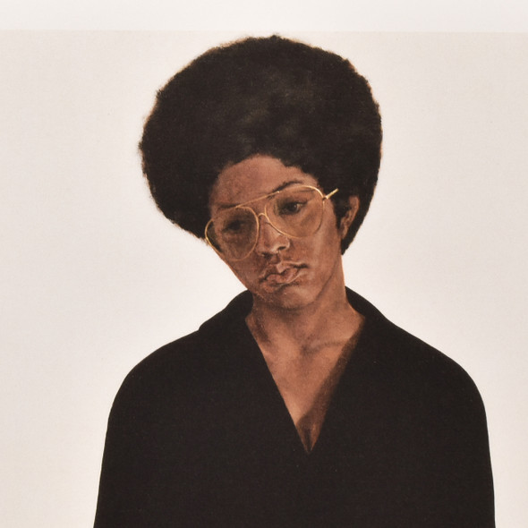 Barkley Hendricks Miss T Mini Poster detail