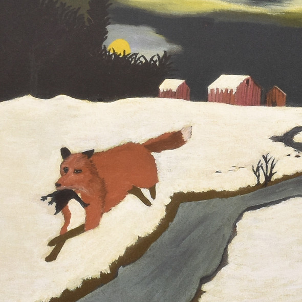 Horace Pippin The Getaway Mini Poster detail