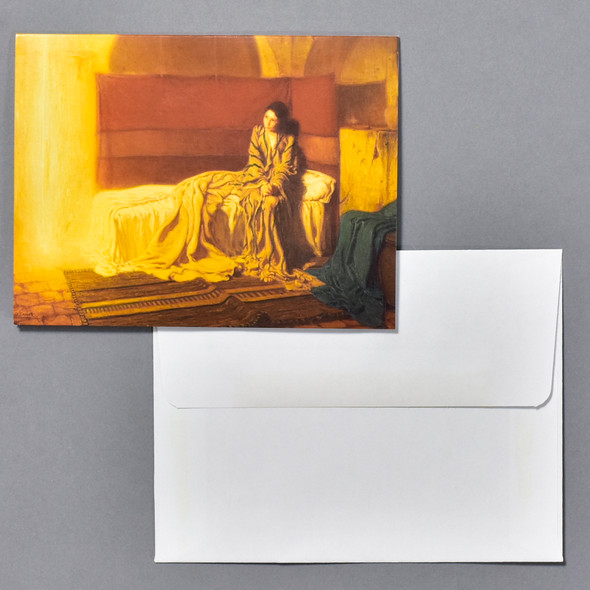 Henry Ossawa Tanner The Annunciation Notecard Set, notecard and envelope