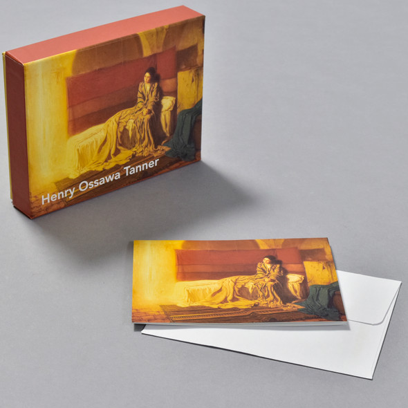 Henry Ossawa Tanner The Annunciation Notecard Set, box with notecard and envelope