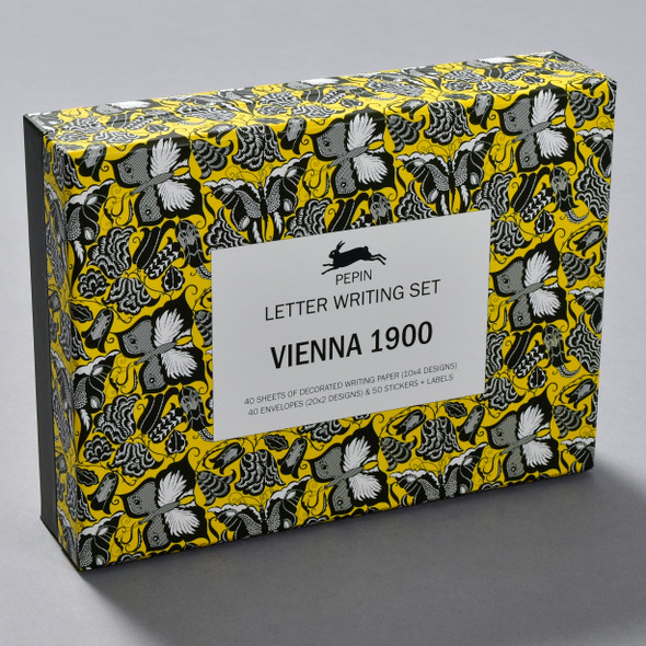 Vienna 1900 Letter Writing Set, front of box