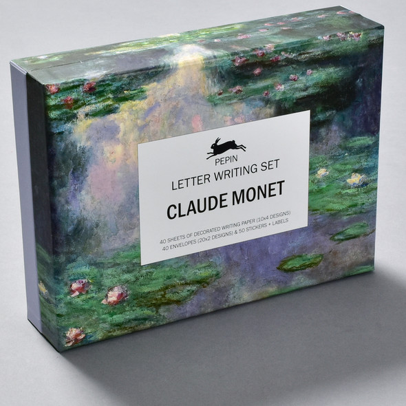 Claude Monet Letter Writing Set, box