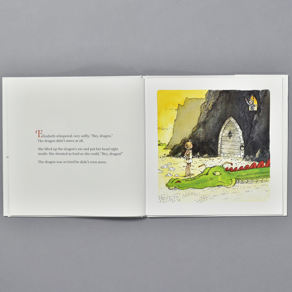 interior of the book Paper Bag Princess: 40th Anniversary Edition