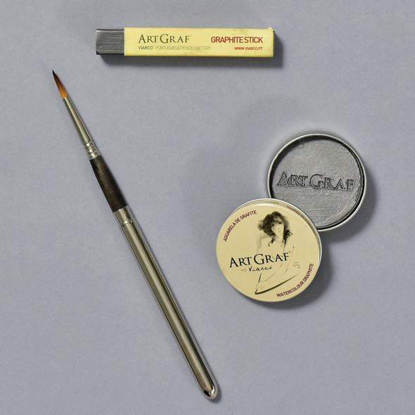ArtGraf Watercolor Graphite Set contents