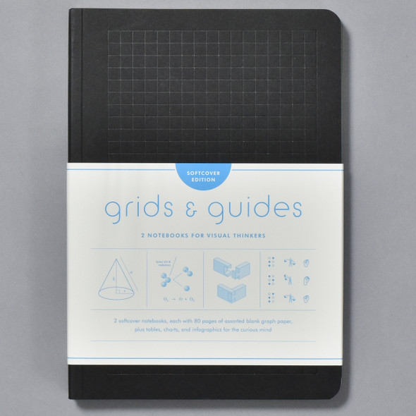 Grids & Guides: 2 Notebooks for Visual Thinkers front