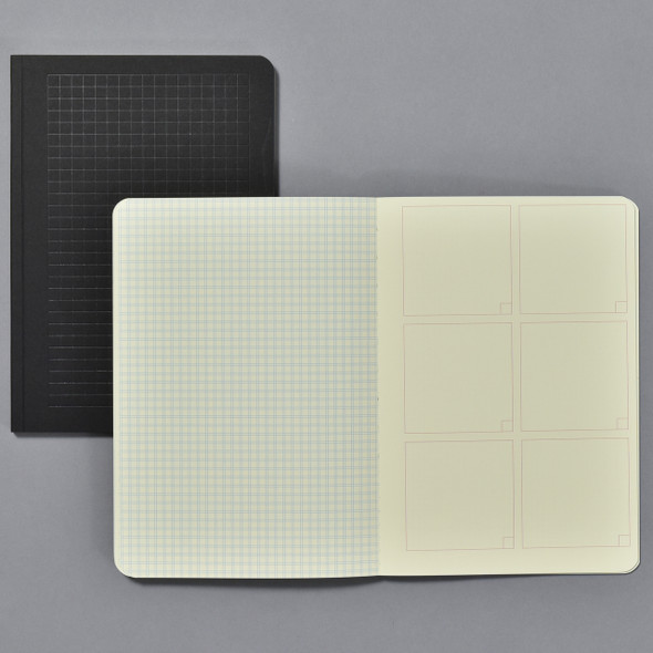 Grids & Guides: 2 Notebooks for Visual Thinkers