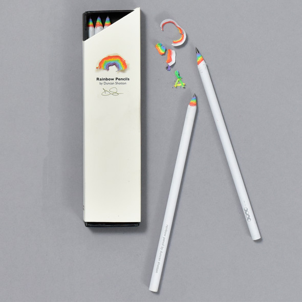 Rainbow Pencils by Duncan Shotton