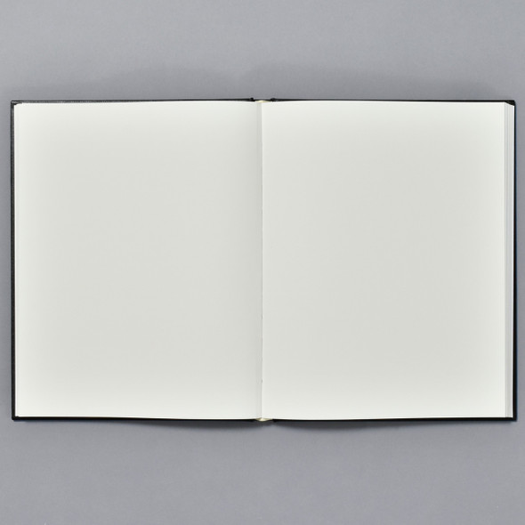 Premium Sketchbook Large open showing blank pages