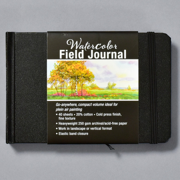 Watercolor Field Journal front