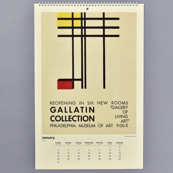 Vintage Exhibition Posters 2021 Wall Calendar