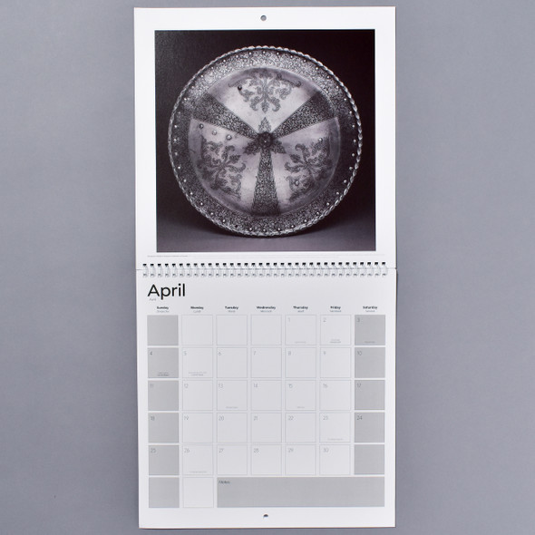 Arms & Armor 2021 Wall Calendar open