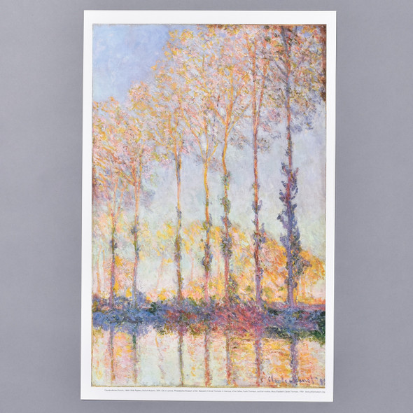 Claude Monet Poplars, End of Autumn, 1891 Mini Poster