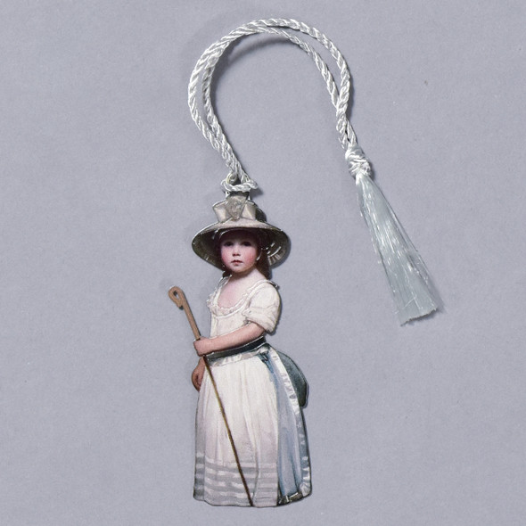 George Romney Shepherd Girl (Little Bo-Peep) Bookmark