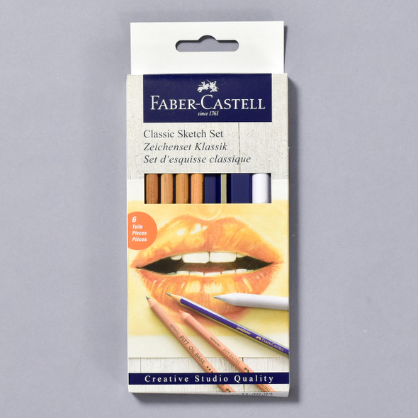 Faber-Castell Classic Sketch Set packaging