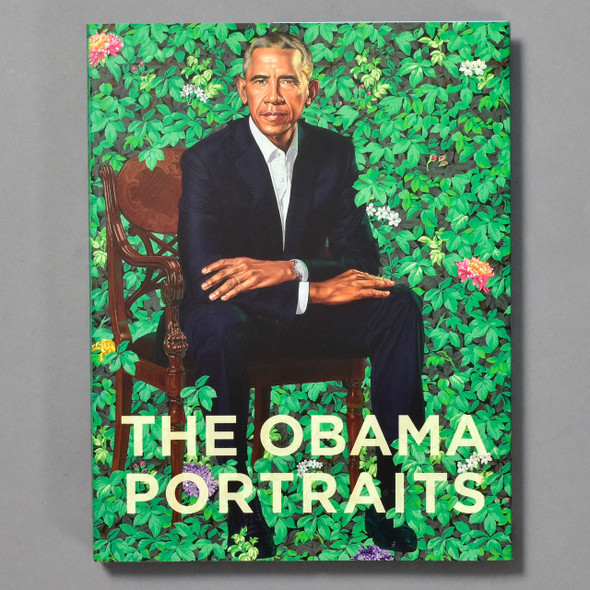 Front of book Obama Portraits Kehinde Wiley