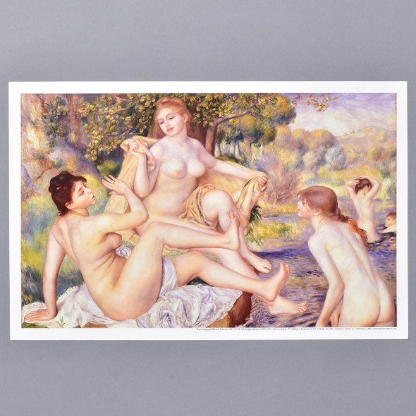 Pierre-Auguste Renoir Large Bathers Mini Poster