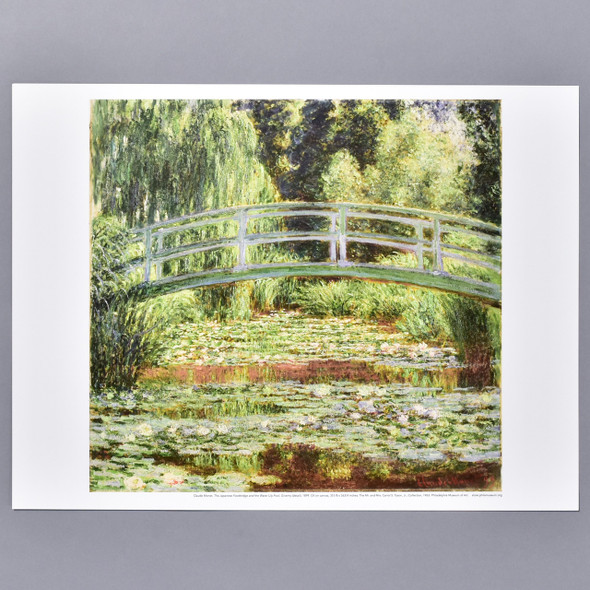 Claude Monet The Japanese Footbridge and Water Lily Pool, Giverny Mini Poster
