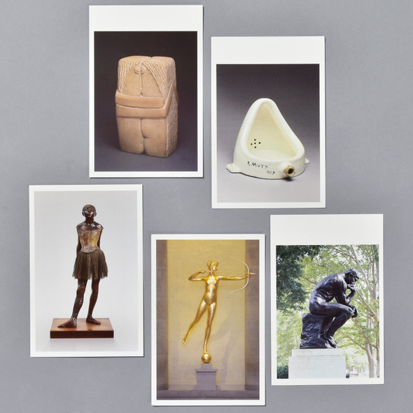 Museum Sculptures Postcard Set