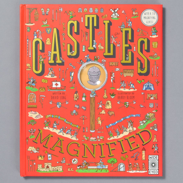 Front of book Castles Magnified