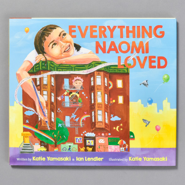 Front of the book Everything Naomi Loved
