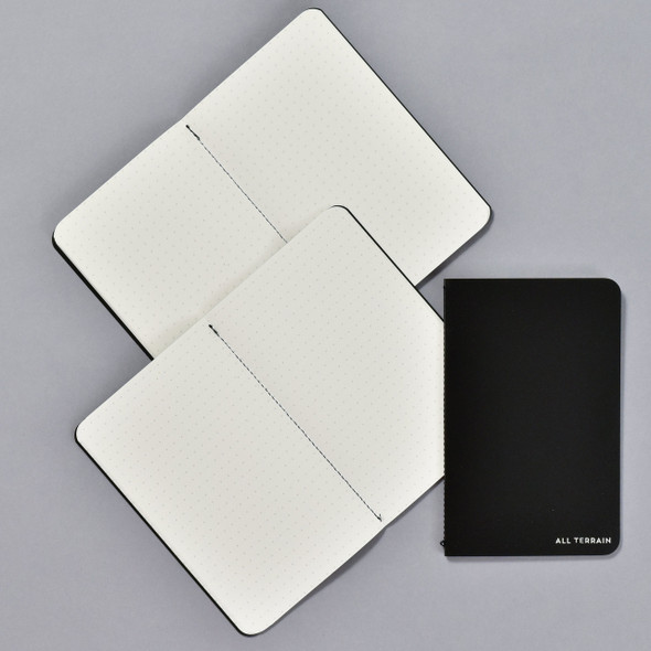 All Terrain Waterproof Notebook (Set of 3), showing inside and cover
