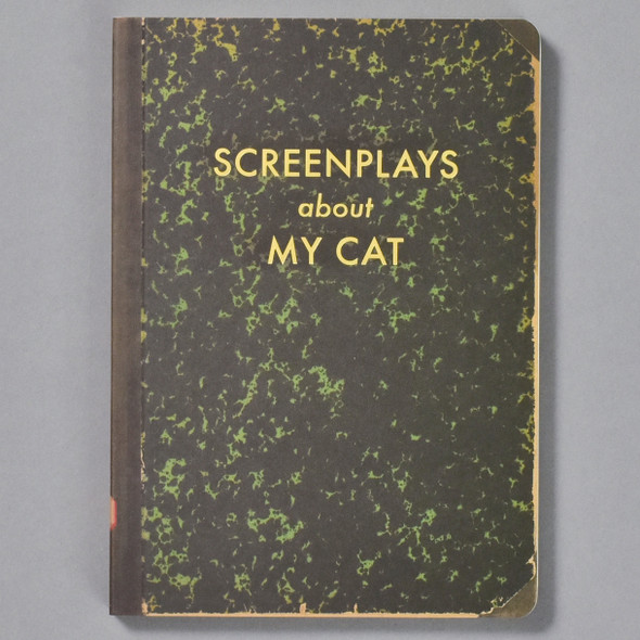Screenplays About My Cat Journal front