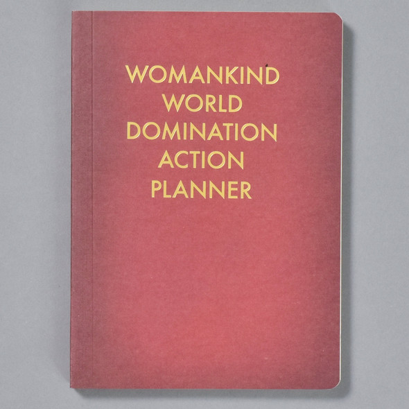 Womankind World Domination Planner Journal front