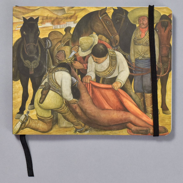 Diego Rivera Liberation of the Peon Sketchbook, front