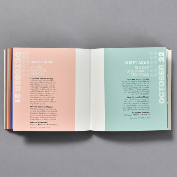 COLORSTROLOGY book, interior pages