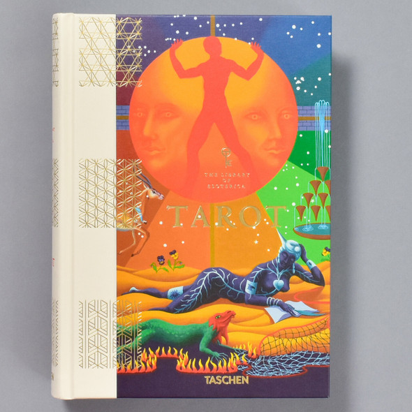 Front of the book Tarot