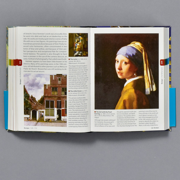 Interior of the book Art A World History