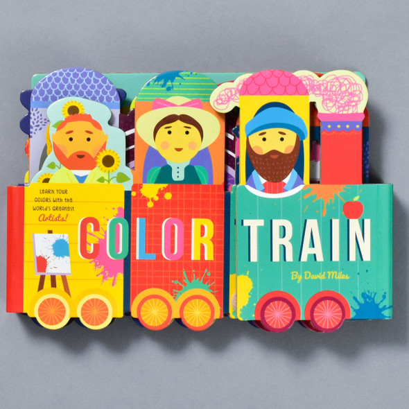 Front of the book Color Train