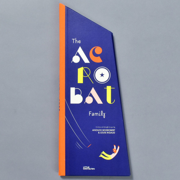 Acrobat Family Pop-up Book, cover of book