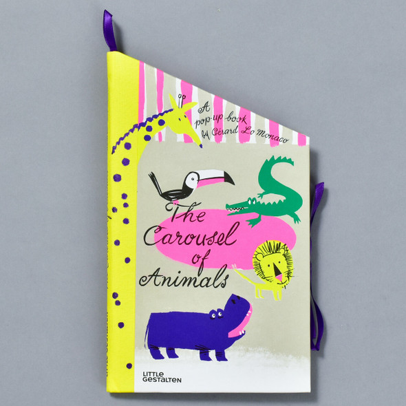 Carousel of Animals Pop-up Book, front cover