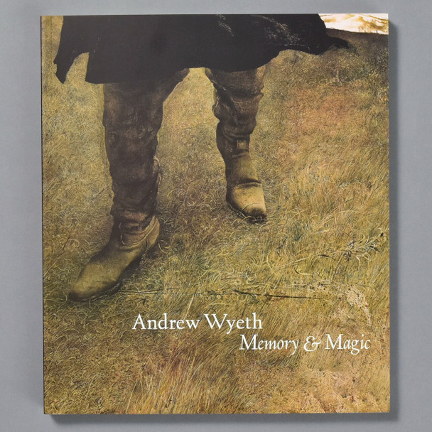 Front cover of the book Andrew Wyeth Memory and  Magic